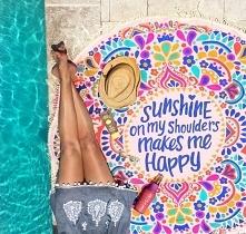 Koc plażowy Sunshine z nosh...