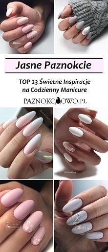 Jasne Paznokcie – TOP 23 Świetne Inspiracje na Codzienny Manicure