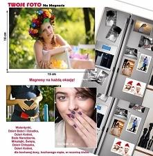 Podaruj bliskiej osobie magnes na lodówkę z Twoją grafiką? Posiadamy magnesy w 4 rozmiarach i najlepszych cenach w Polsce.