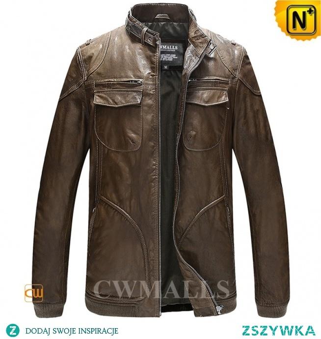 Haute Couture   Men Designer Leather Moto Jacket   CW806035   CWMALLS.COM