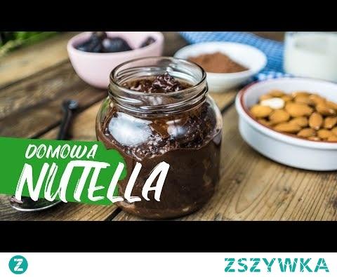 Szukasz pomysłu na coś słodkiego? Oto mój sposób na domową nutellę - prosta, smaczna i słodka, a do tego zdrowa! Cały przepis na ZdrowoNajedzeni.pl