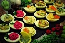 Jajka faszerowane w smakach kilku