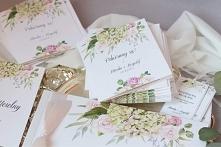wiosenne zaproszenia ślubne