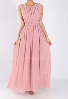 LAORA - Długa sukienka z pe...