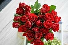 róże, serce, miłość