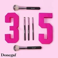 Seria pędzli do makijażu LOVE PINK  Love Pink by Donegal