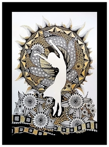 Sztuka inspirowana Zentangl...