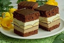 Mleczne ciasto z czekoladą ...