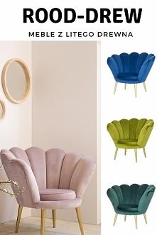 Fotel Rosalina tylko u nas !!! musisz ją mieć u siebie ! idealna do salony, sypialni, restauracji czy pokoju dziecięcego