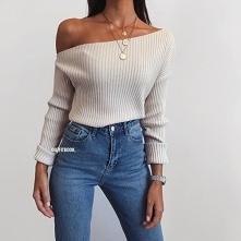 Wiosenna stylówka ze swetre...