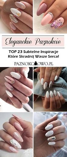 Eleganckie Paznokcie – TOP 23 Subtelne Inspiracje