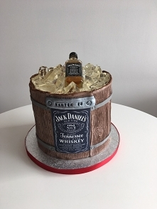Tort beczka Jack Daniels