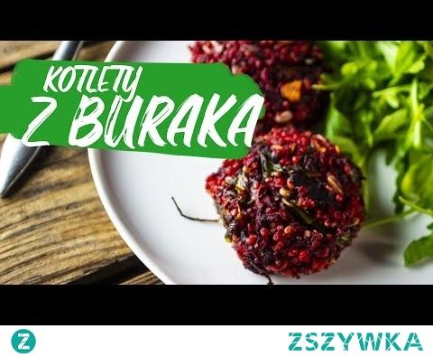 Kotlety z buraka - moje ulubione, jeszcze mi sie nie znudziły! Spróbujesz?? :) cały przepis na ZdrowoNajedzeni.pl