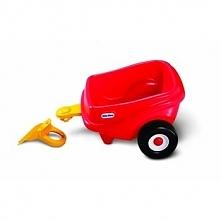 Little Tikes Przyczepka Cozy Coupe czerwona