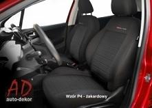 Wysokiej jakości pokrowce na fotele samochodowe.