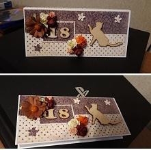 Kartka na czekoladę dla koc...