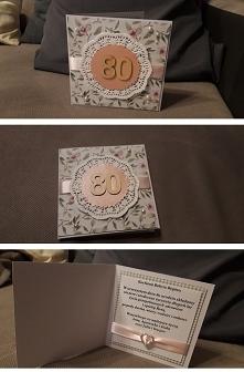 Kartka 80 urodziny