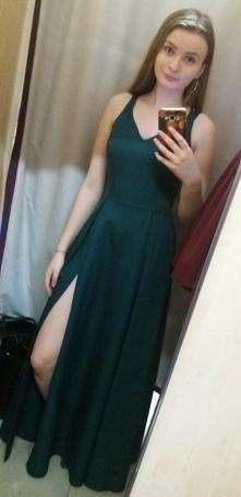Taka prosta długa sukienka ...