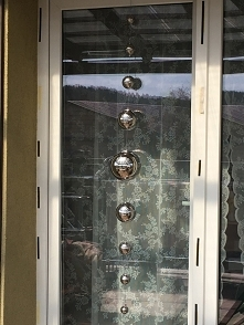 girlanda do okna balkonowego dl 150 cm