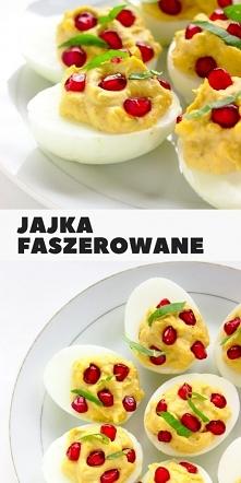 Jajka faszerowane z granate...