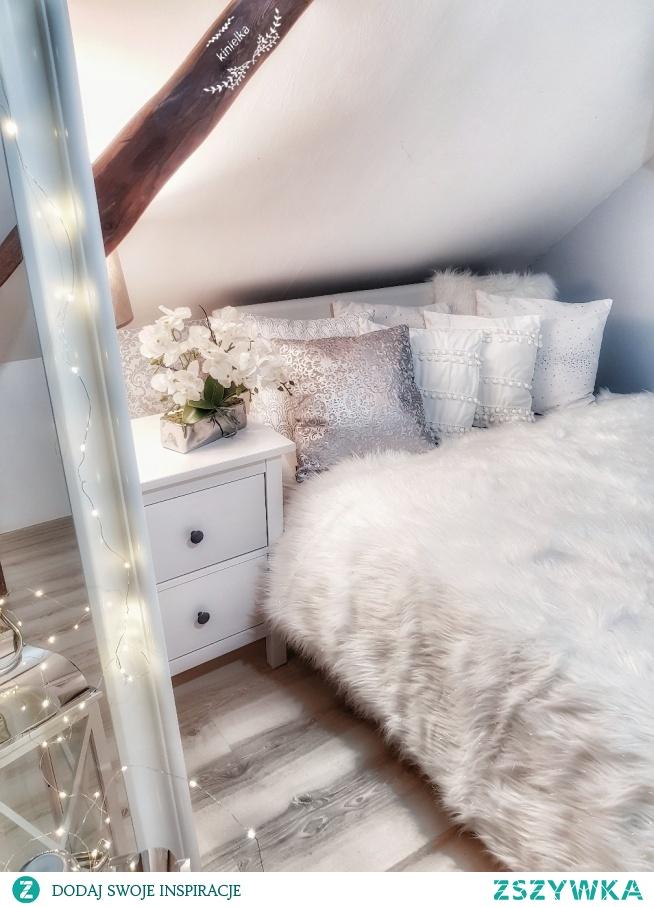 sypialnia łóżko ikea