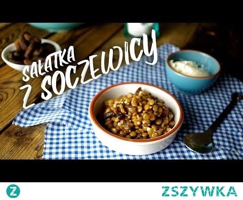 Sałatka z soczewicy - prosta i naprawdę smaczna! || cały przepis na ZdrowoNajedzeni.pl