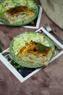 Zapiekanka z łososiem - fiń...