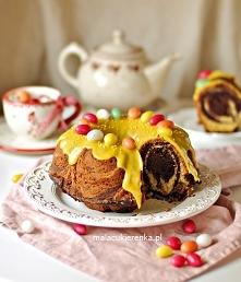 babka marmurkowa z czekoladą
