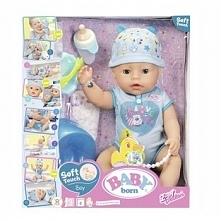 Baby Born Soft Interaktywna Lalka Chłopczyk