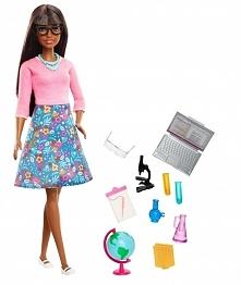 Barbie Nauczycielka Lalka + akcesoria