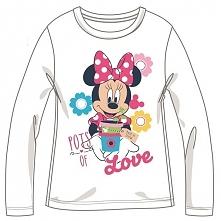 Disney By Arnetta Koszulka Dziewczęca Minnie 128 Biały