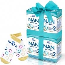 Zestaw 4x NESTLE NAN OPTIPRO 2 800g Mleko modyfikowane w proszku Dla dzieci o...