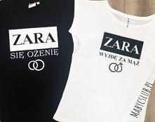 Koszulki dla par, młodych, ...