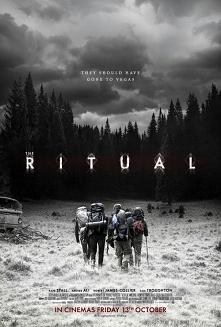 Rytuał (2017)  horror  Grupa znajomych wyrusza na wyprawę do Szwecji. Przyjaciele jednak nie mają wiele szczęścia, poza wspólnym spotkaniem niestety doświadczają czegoś niezapla...