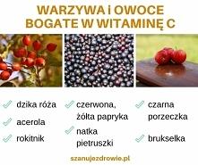 Warzywa i owoce bogate w witaminę C