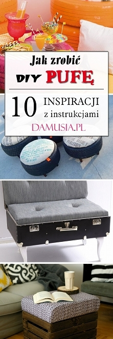 Jak Zrobić DIY Pufę? – 10 Inspiracji z Instrukcjami