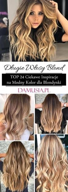 Długie Włosy Blond – TOP 24...