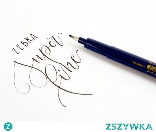 Potrzebny Ci brush pen z twardą i mało elastyczną końcówką? Model marki Zebra WFSS4, będzie idealnym wyborem!