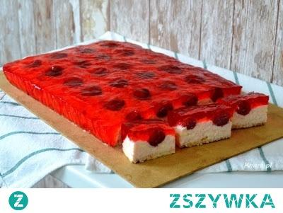 Słodki budyniowiec - ciasto bez pieczenia