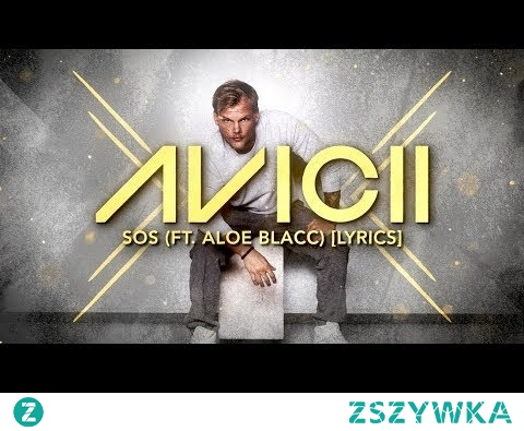 Avicii - SOS ft. Aloe Blacc [Lyric Video]