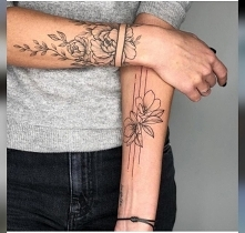 Kwiaty - kreski