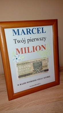 Marcel Twój pierwszy MILION...