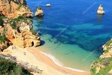 Portugalia. Praia da Dona Ana