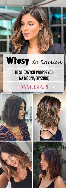 TOP 18 Ślicznych Propozycji na Modne Włosy do Ramion