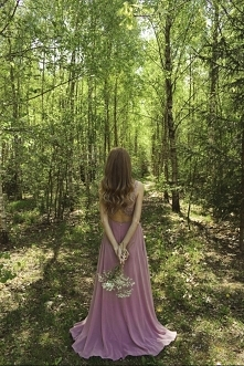 Długie sukienki sprawiają, że czujemy się jak księżniczki <3