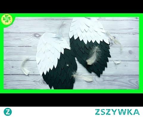 Jak zrobić skrzydła ptaka (bociana) / How to make Bird (Stork) Wings