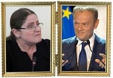"""K.Pawłowicz: """"IDŹMY na wybory 26 V i głosujmy na PIS, by już NIGDY WIĘCEJ na żadne stanowisko w UE nie został przez GER lub FRA WSKAZANY ktoś taki, jak D. TUSK, który dla k..."""