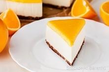Sernik pomarańczowy bez pie...