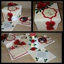Box z okazji 35 rocznicy ślubu