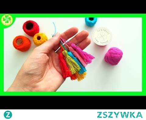 Jak zrobić frędzle (na szybko) / How to make a fringe (speed up)
